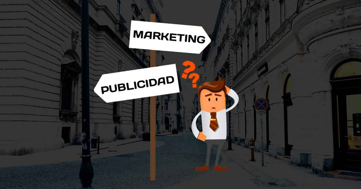 diferencia publicidad y marketing
